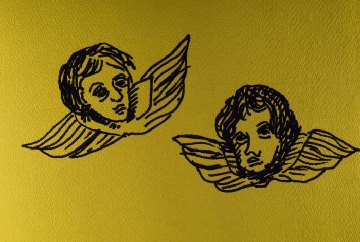 Heads with Wings