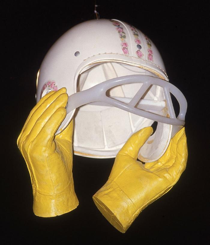 Hands on Helmet